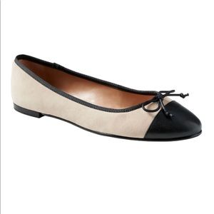 Banana Republic Almond-Toe Robin Ballet Flat